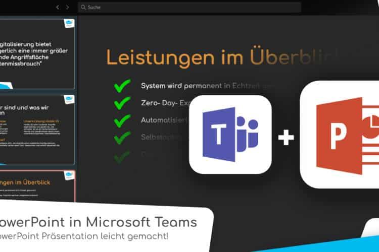 PowerPoint in Microsoft Teams